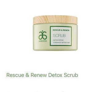 Brand New Arbonne Detox Scrub!